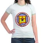 USS ALBUQUERQUE Jr. Ringer T-Shirt