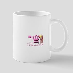Pasadena Pink Kneeling Angel Mugs