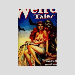 Weird Tales Jan Rectangle Magnet
