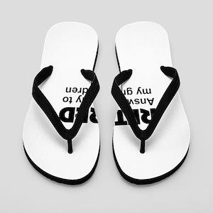 cute retirement Flip Flops