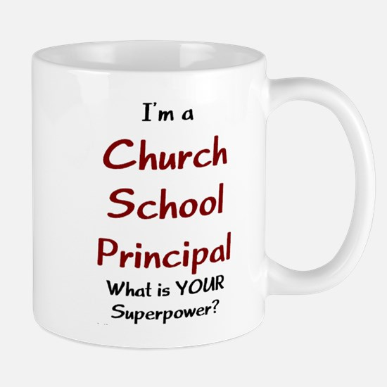 church school principal Mug
