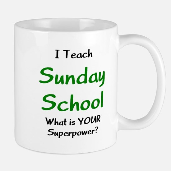 teach sunday school Mug