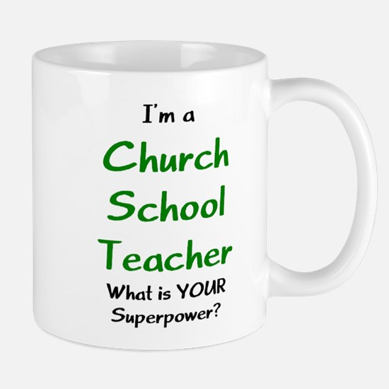 church school teacher Mug