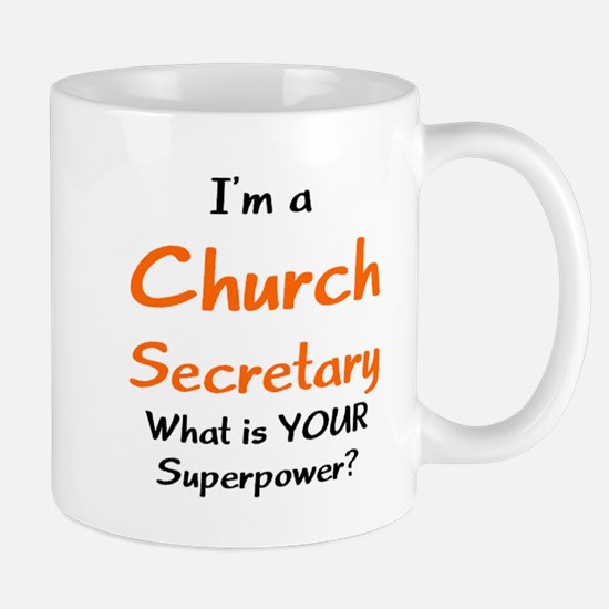 church secretary Mug
