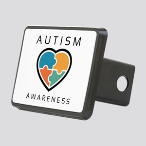 Autism Awareness Rectangular Hitch Cover