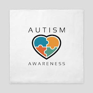 Autism Awareness Queen Duvet
