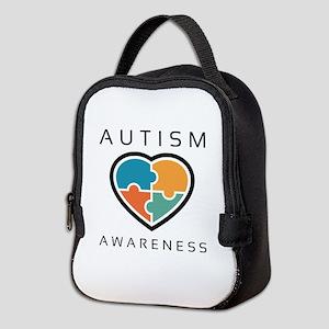 Autism Awareness Neoprene Lunch Bag