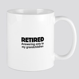 cute retirement Mugs
