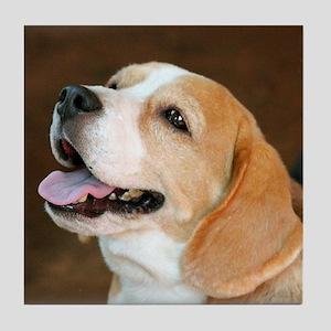 Beagle Dog  Tile Coaster