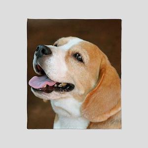 Beagle Dog  Throw Blanket