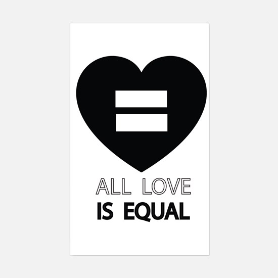 All Love Is Equal Decal