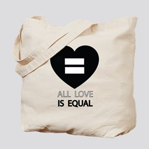All Love Is Equal Tote Bag