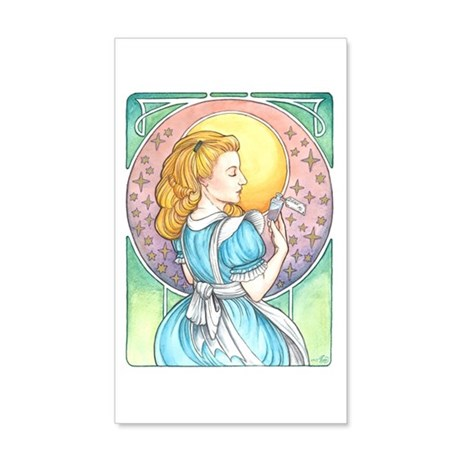 Alice, Too Wall Decal