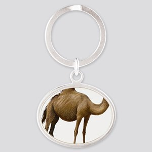 Camel Oval Keychain