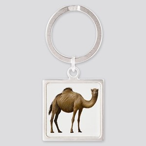 Camel Square Keychain