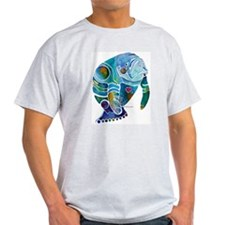 Manatees Endangered Species Light T-Shirt
