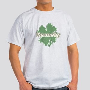 """Shamrock - Kennedy"" Light T-Shirt"