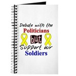 Debate Politicians Support our Soldiers Journal