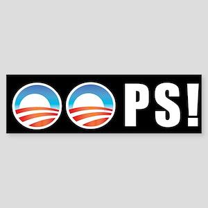 Obama OOPS! Bumper Sticker