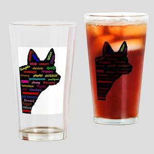 Blue Heeler Tribute Drinking Glass