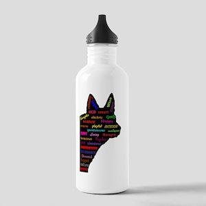 Blue Heeler Tribute Water Bottle