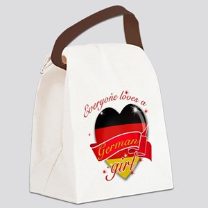 germany Canvas Lunch Bag