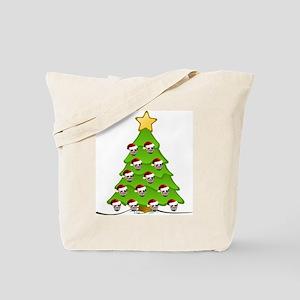 Monster Christmas Tree Tote Bag