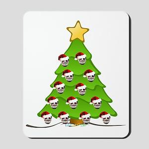 Monster Christmas Tree Mousepad