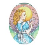 Alice, Too Ornament (Oval)
