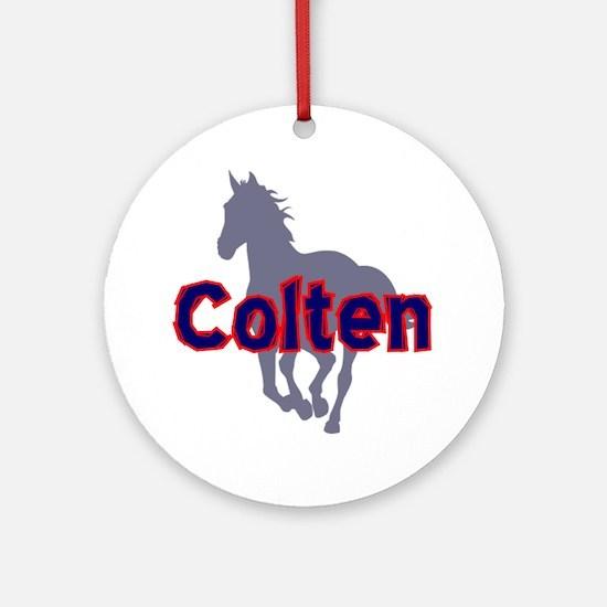 colten Round Ornament
