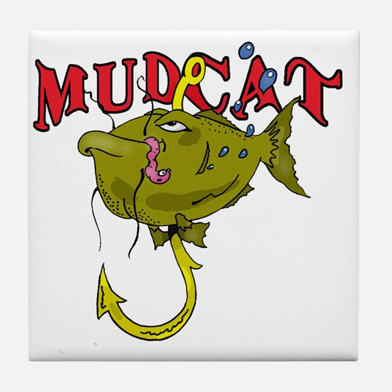 MUD CAT Tile Coaster