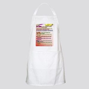Cursillo DeColores Song Poster Apron