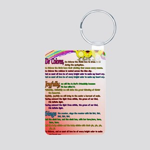 Cursillo DeColores Song Po Aluminum Photo Keychain