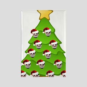 Monster Christmas Tree Rectangle Magnet