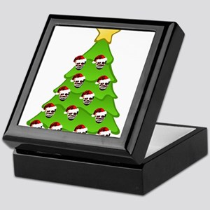 Monster Christmas Tree Keepsake Box