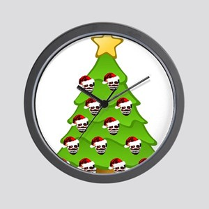 Monster Christmas Tree Wall Clock