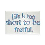 Life is 2 Short Rectangle Magnet (100 pack)