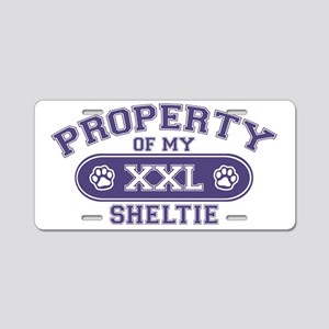 sheltieproperty Aluminum License Plate