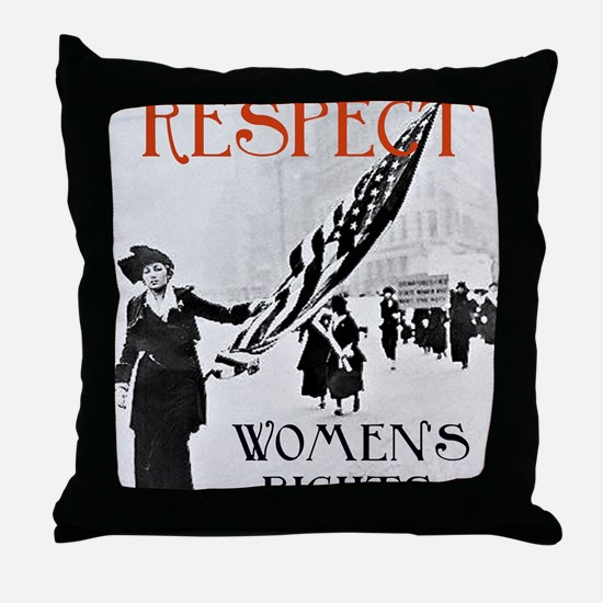 Respect Womens Rights2 Throw Pillow