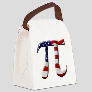 American Pi Canvas Lunch Bag