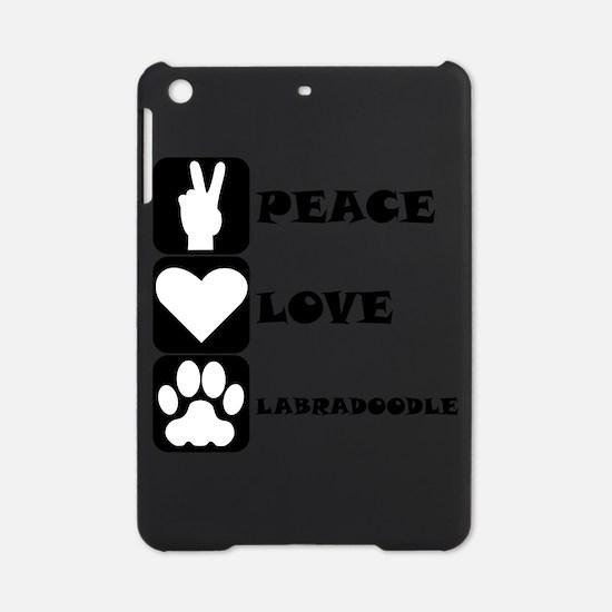 Peace Love Labradoodle iPad Mini Case