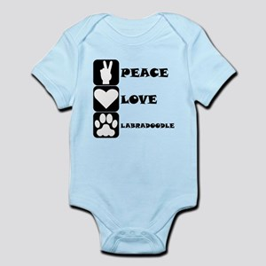 Peace Love Labradoodle Body Suit