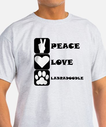 Peace Love Labradoodle T-Shirt