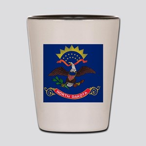 2000px-Flag_of_North_Dakota_svg Shot Glass