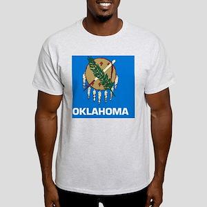2000px-Flag_of_Oklahoma_svg Light T-Shirt