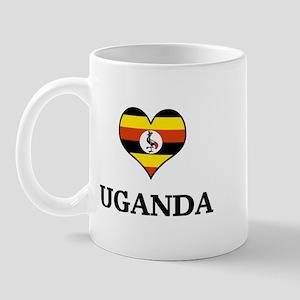 Uganda heart Mug