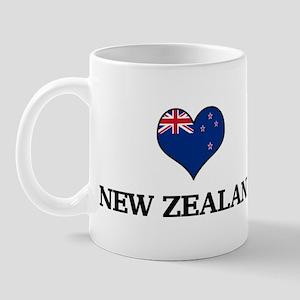 New Zealand heart Mug