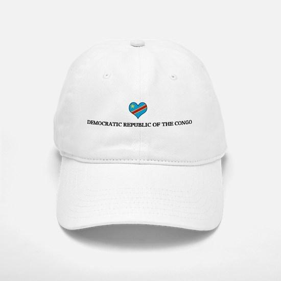 Democratic Republic Of The Co Baseball Baseball Cap