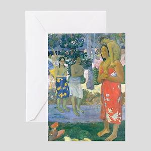 K/N Gauguin Mary Greeting Card