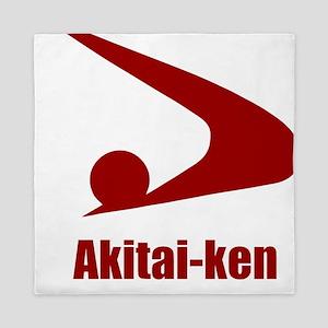 Akitai-ken (flat) pocket Queen Duvet